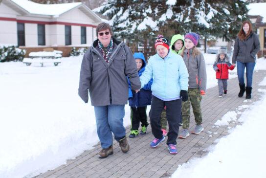 community-on-walk
