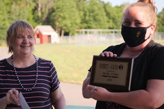 Award winner Holly Ciffra